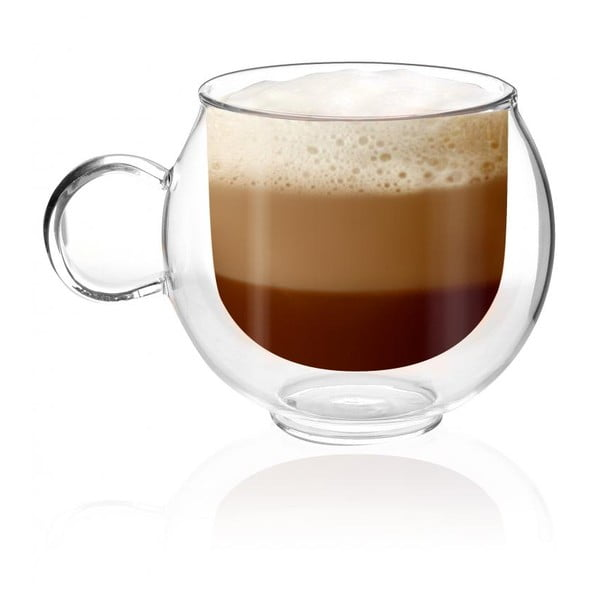 Amo duplafalú pohár, 220ml - Vialli Design