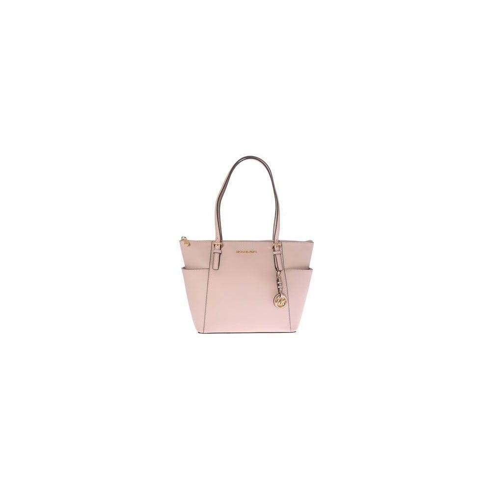 39b6687222 Jet Set világos rózsaszín bőr kézitáska - Michael Kors | Bonami