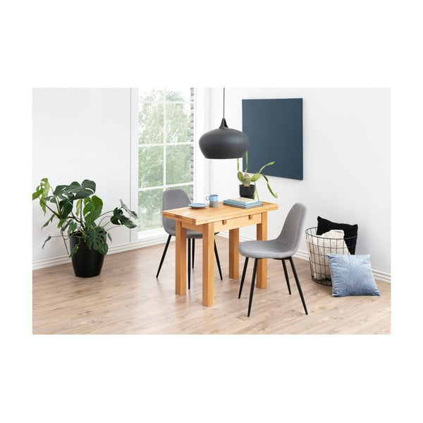 Kenley bővíthető asztal, tölgyfa asztallappal - Actona