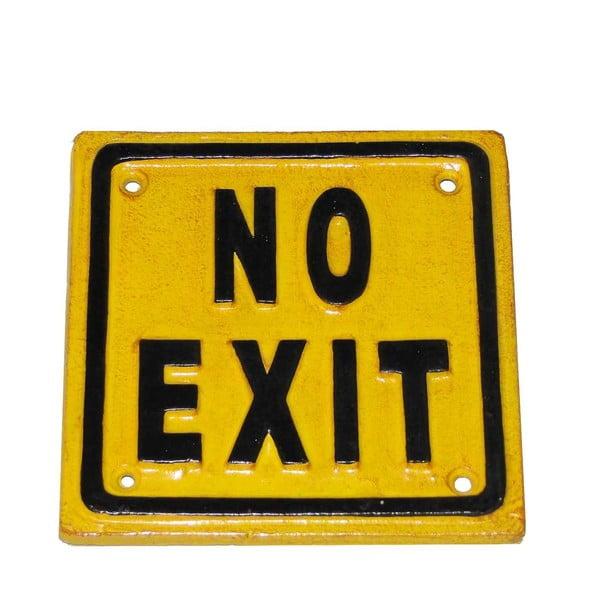 No Exit fémtábla - Antic Line