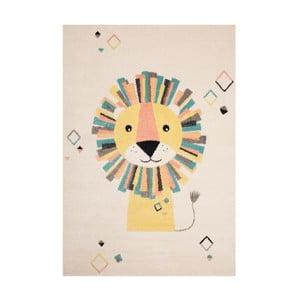 Lion bézs-krémszínű gyerekszőnyeg, 120 x 170 cm - Zala Living
