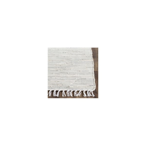 Cabrera ezüstszínű pamutszőnyeg, 182x121cm - Safavieh