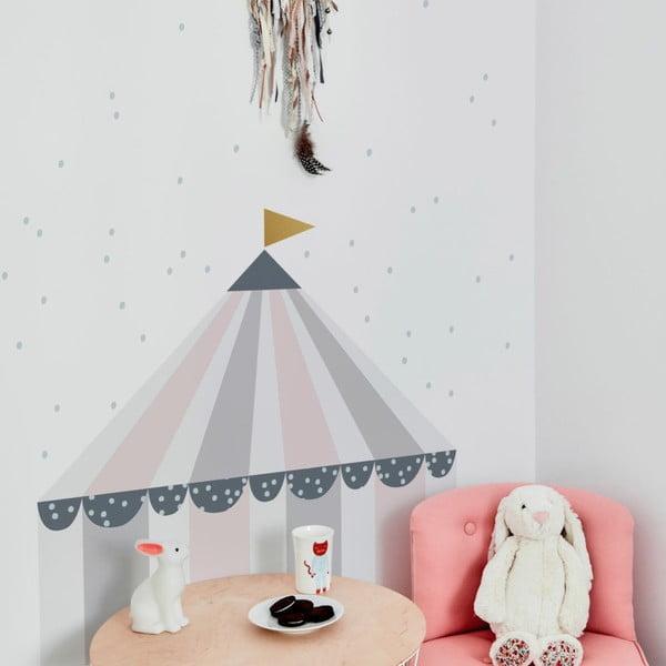 Circus Pastel falmatrica, 50 x 55cm - Dekornik
