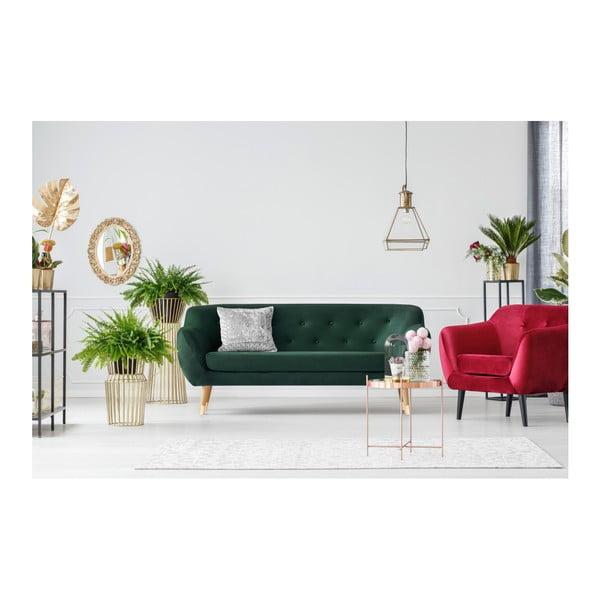 Amelie sötétzöld 3 személyes kanapé - Mazzini Sofas