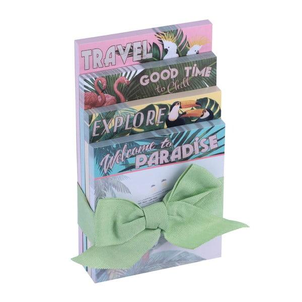 Paradise jegyzettömbkészlet, 4 darabos - Tri-Coastal Design