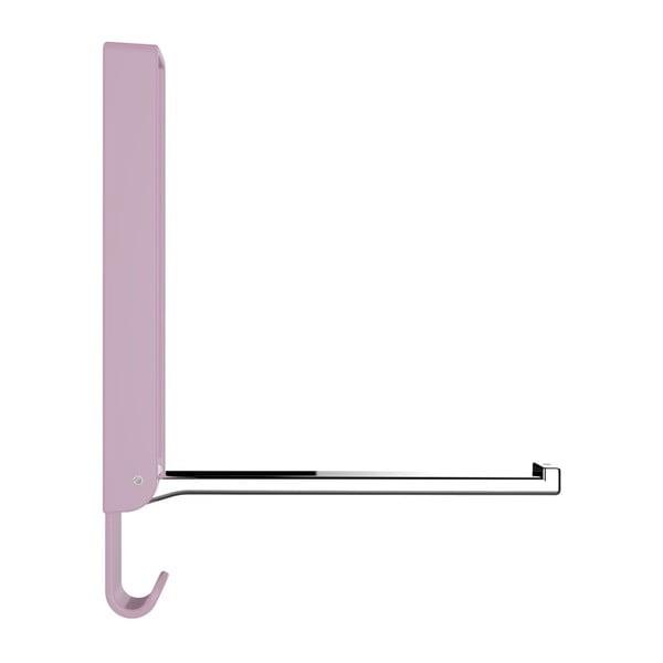 Basic GAMMA rózsaszín összecsukható dupla akasztó - Wenko