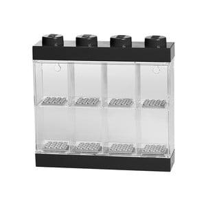Fekete-fehér minifigura gyűjtődoboz, 8 minifigurára - LEGO®