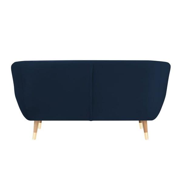 Amelie sötétkék kétszemélyes kanapé - Mazzini Sofas