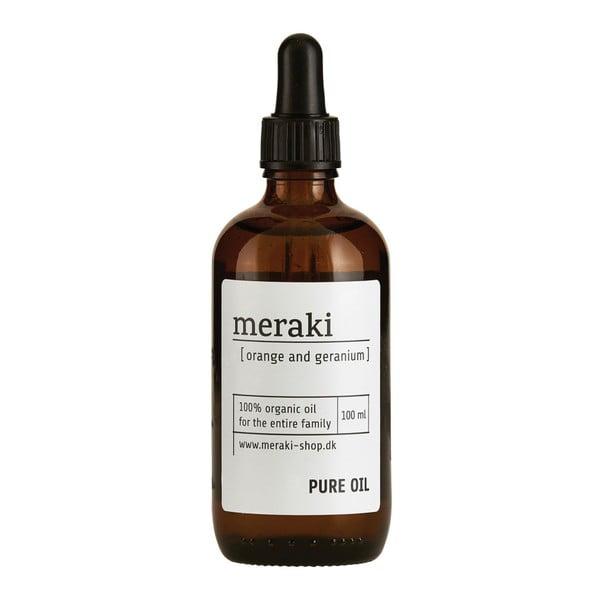 Orange and Geranium organikus olaj, 100 ml - Meraki