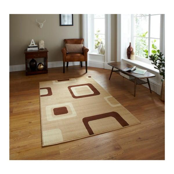Diamond bézs szőnyeg, 67 x 225 cm - Think Rugs