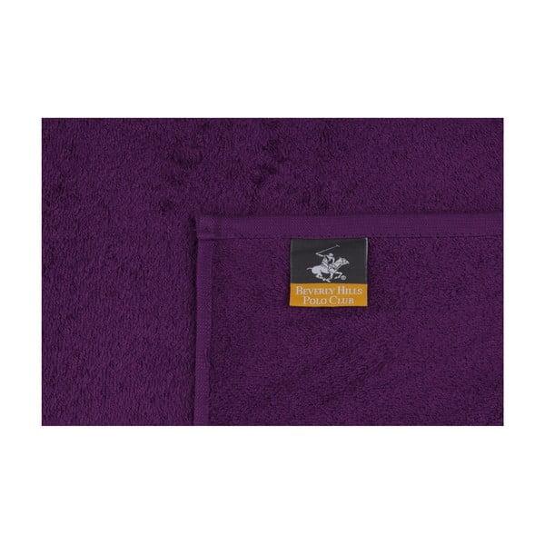 Polo Club lila törölköző szett, 2 db