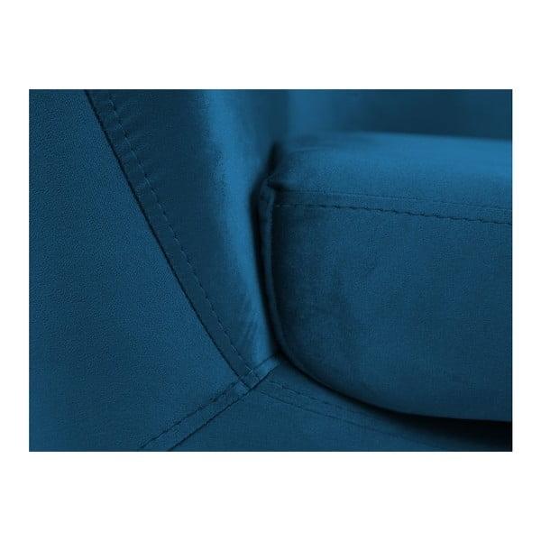 Amelie kék fotel - Mazzini Sofas