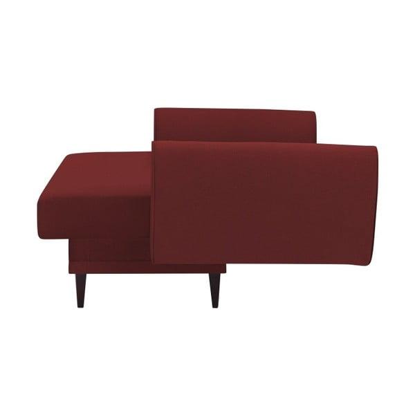 Laila terrakotta piros kinyitható kanapé - HARPER MAISON