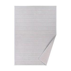 Esna szürke, mintás kétoldalú szőnyeg, 70 x 140 cm - Narma