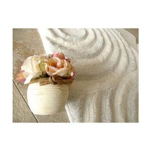 Alessia Sparkle 3 db-os fehér fürdőszobai kilépő szett