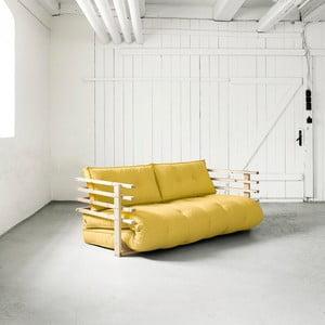 Funk Natural/Amarillo kihúzható kanapé - Karup
