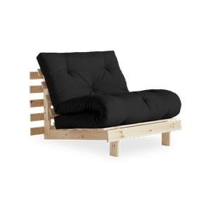 Roots Raw/Dark Dark Grey variálható fotel - Karup Design