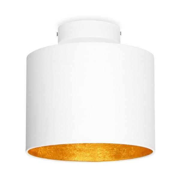 MIKA Elementary XS CP fehér mennyezeti lámpa, aranyszínű részletekkel - Sotto Luce
