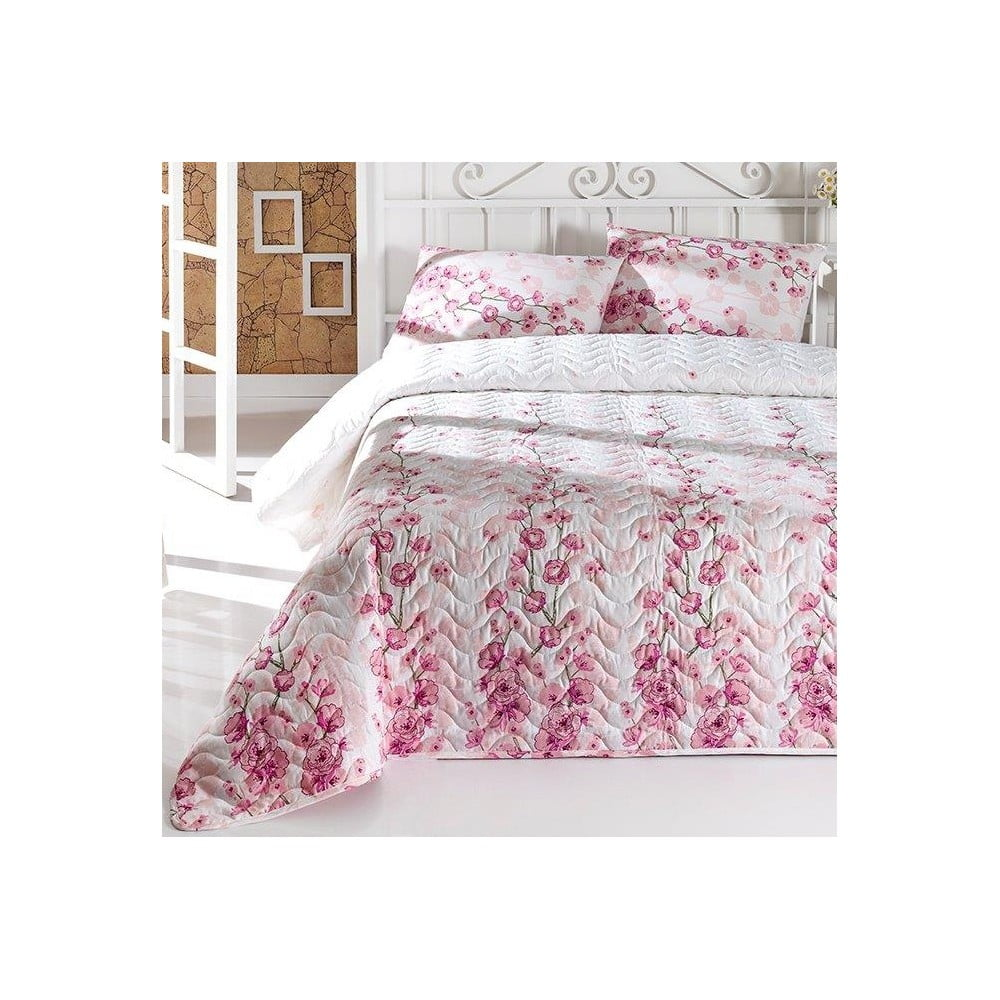 La Vie en Rose steppelt könnyű kétszemélyes ágytakaró ce6bfbf0d6