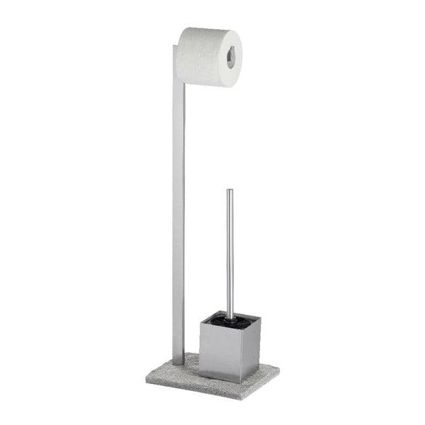 Granite szürke WC-kefe tartó szett - Wenko