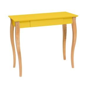 Lillo sárga íróasztal, hossz 85 cm - Ragaba