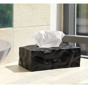 Wipy II Black zsebkendőtartó doboz - Essey