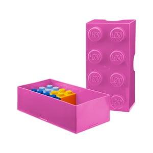 Rózsaszín uzsonnásdoboz - LEGO®