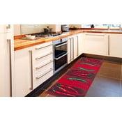 Peperoncini rendkívül ellenálló konyhai szőnyeg, 60 x 110 cm - Webtappeti