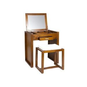 Ohio fésülködőasztal és szék mindi fából - Santiago Pons