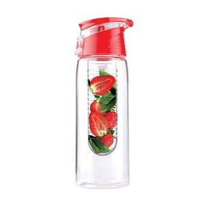 Flavour It 2 Go piros ivizespalack, 600 ml - Asobu