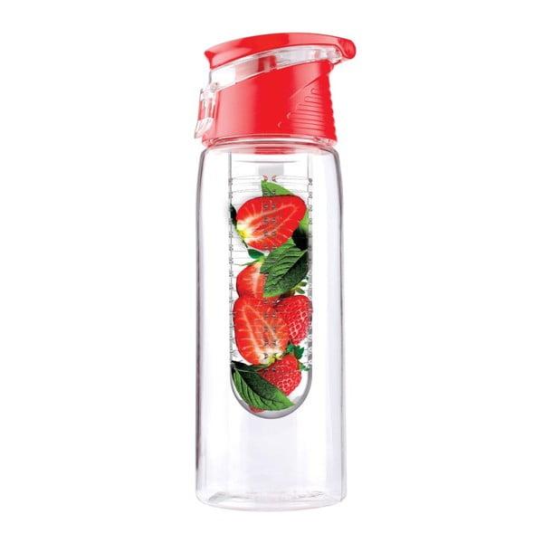 Flavour It 2 Go piros ivizespalack, 600 ml - Asobu