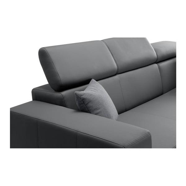 Tresor világosszürke kanapé, jobb oldalas - Interieur De Famille Paris