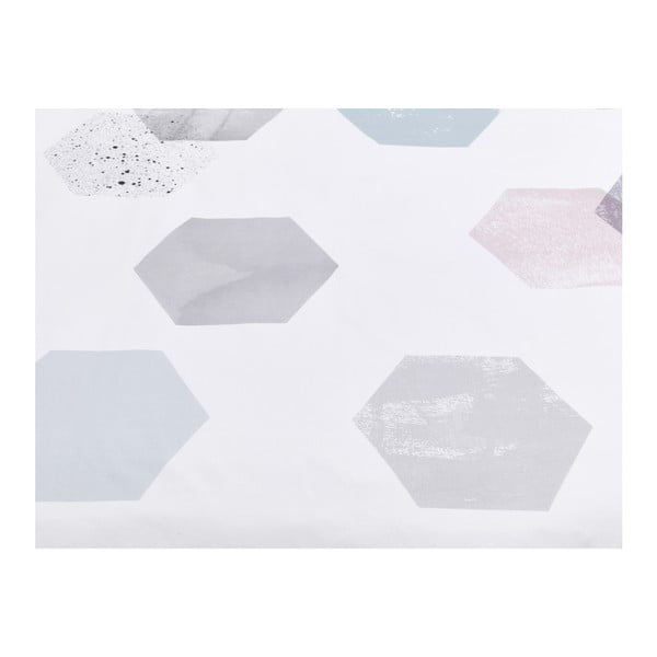 Hexagons gyerek pamut ágyneműhuzat garnitúra, 90x120cm - Mumla