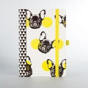 Dog kutyamintás jegyzetfüzet - Just Mustard
