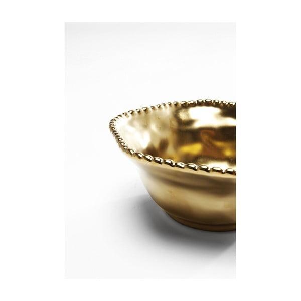 Bell Gold aranyszínű tál, ⌀ 16 cm - Kare Design
